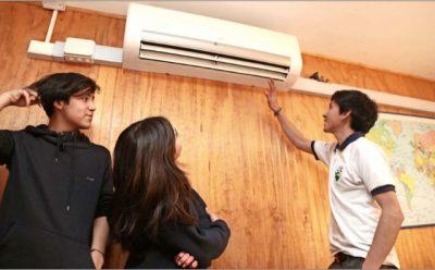 Liceo de Coyhaique reemplazó la leña por la energía geotérmica para calefaccionarse