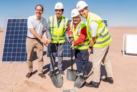 Comienza la construcción de Atacama Solar, una de las plantas fotovoltaicas más grandes de Chile