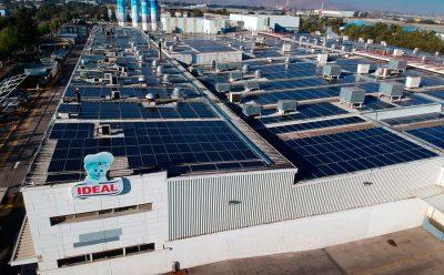 Inauguran sistema de energía solar de autoconsumo más grande del país