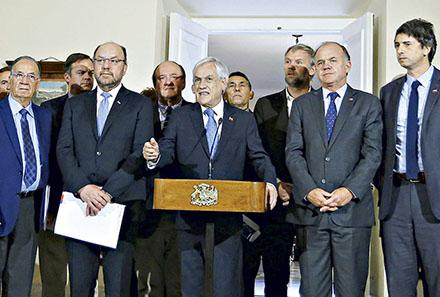 Piñera presenta mesa transversal por sequía y apuesta a lograr avances para COP25