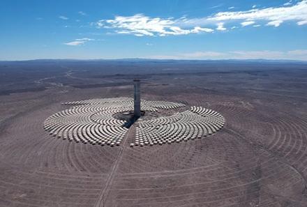 Copec cierra acuerdo por energía renovable con la Central Cerro Dominador