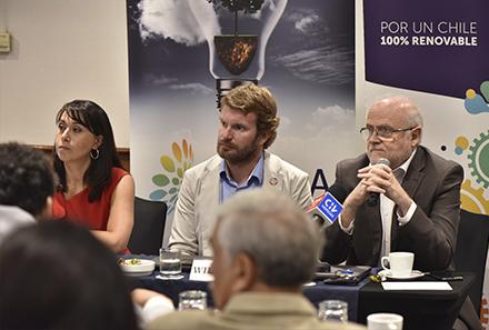 """Conferencia de prensa ACERA: """"El 2020 será el año de las ERNC, adelantándose cinco años a la meta del 20%"""""""