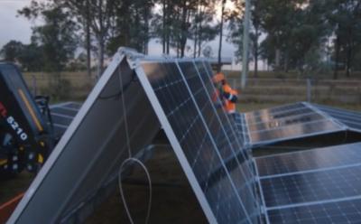 AES Gener construirá primer parque solar con tecnología de espacio reducido