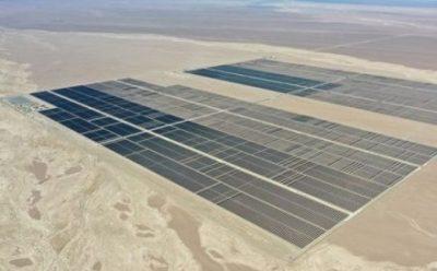 Collahuasi y Sonnedix firman contrato de energía solar