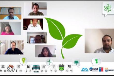 Con Networking de Innovación y Ruedas de Negocios promueven el uso de las energías renovables