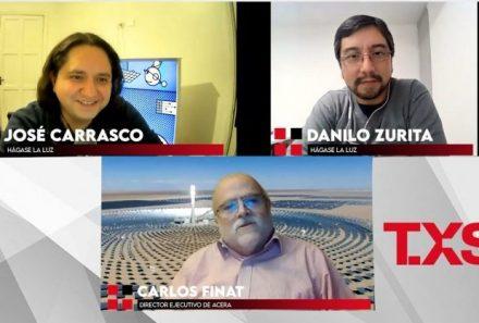 """Carlos Finat: """"A 2040 Chile podría tener un sistema totalmente neutro en emisiones"""""""